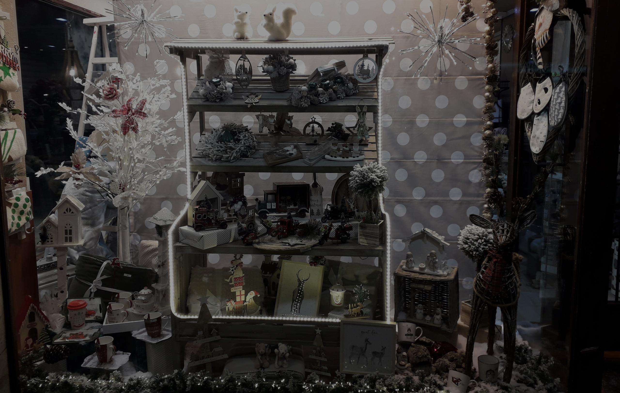 Escaparate Navidad Illana 2019